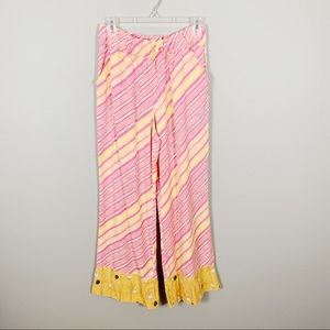 Anthropologie Striped Patterned Pants